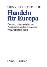 Handeln F r Europa