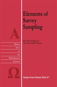 Elements of Survey Sampling
