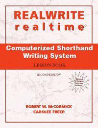REALWRITE/realtime Computerized Shorthand Writing
