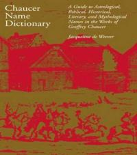 Chaucer Name Dictionary