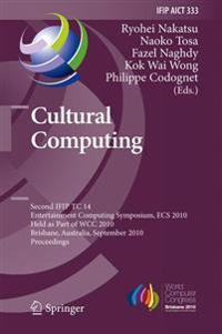 Cultural Computing