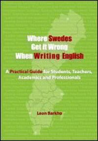 Where Swedes Get it Wrong When Writing English
