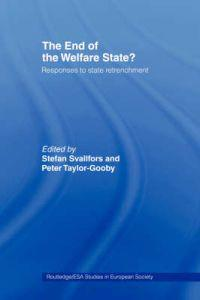 The End of the Welfare State?