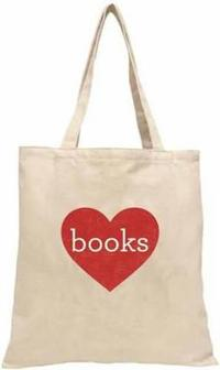 Books Tote - Heart