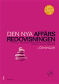 Den nya affärsredovisningen,  Lösningar till övningsbok