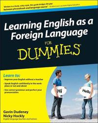 Learning English as a Foreign Language for Dummies [With CD (Audio)]
