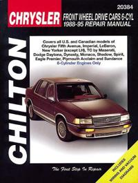 Chilton's Chrysler Front Wheel Drive Cars 6-Cyl 1988-95 Repair Manual