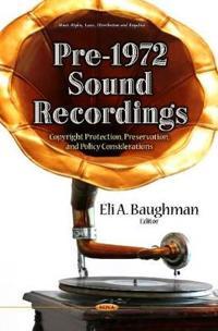 Pre-1972 Sound Recordings