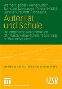 Autorit t Und Schule
