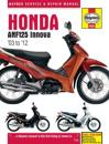 Honda anf125 innova service and repair manual - 2004-2012