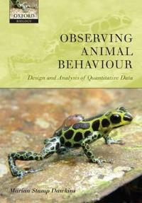 Observing Animal Behaviour: Design and Analysis of Quantitive Controls