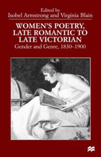 Women's Poetry, Late Romantic to Late Victorian