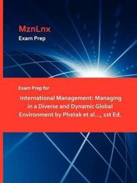 Exam Prep for International Management