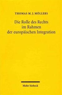 Die Rolle Des Rechts Im Rahmen Der Europaischen Integration: Zur Notwendigkeit Einer Europaischen Gesetzgebungs- Und Methodenlehre