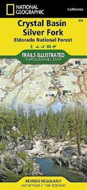 National Geographic Trails Illustrated Map Crystal Basin / Silver Fork / Eldorado National Forest