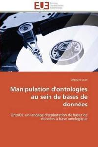Manipulation D'Ontologies Au Sein de Bases de Donnees
