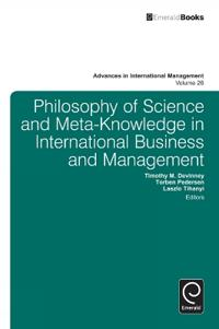Philosophy of Science and Meta-Knowledge in International Business and Management