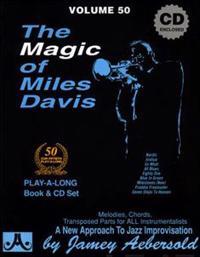 Jamey Aebersold Jazz -- The Magic of Miles Davis, Vol 50: A New Approach to Jazz Improvisation, Book & CD