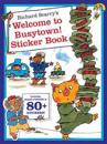 Richard Scarry's Welcome to Busytown! Sticker and Poster Book