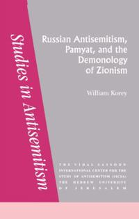 Russian Antisemitism Pamyat/De