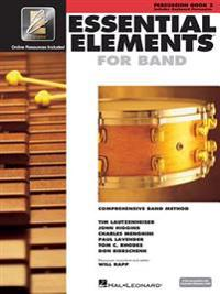 Essential Elements for Band - Book 2 with Eei: Percussion/Keyboard Percussion