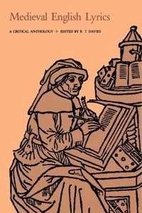 Medieval English Lyrics