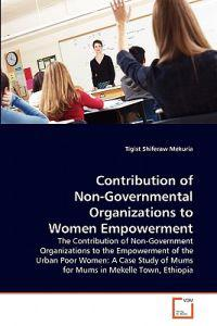 Contribution of Non-Governmental Organizations to Women Empowerment