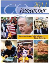 CQ Researcher Bound Volume 2011
