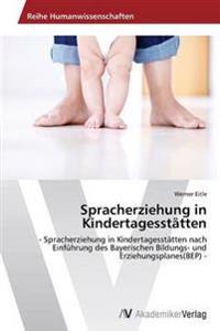 Spracherziehung in Kindertagesstatten