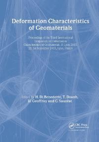 Deformation Characteristics of Geomaterials/Comportement Des Sols Et Des Roches...