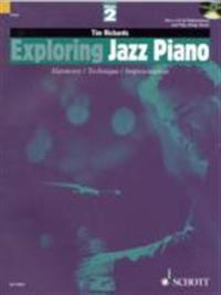 Exploring Jazz Piano - Volume 2: Book/CD