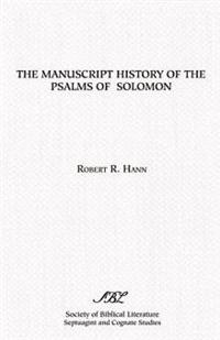 Manuscript History of the Psalms of Solomon