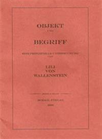 Objekt und Begriff