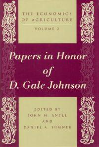 Papers in Honor of D. Gale Johnson
