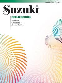 Suzuki Cello School, Vol 8: Cello Part