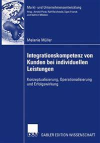 Integrationskompetenz Von Kunden Bei Individuellen Leistungen