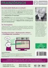 Französisch lernen 2. Aufbau CD-ROM