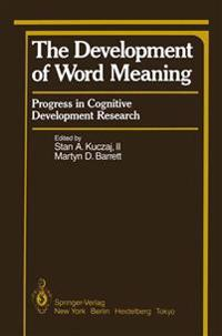The Development of Word Meaning