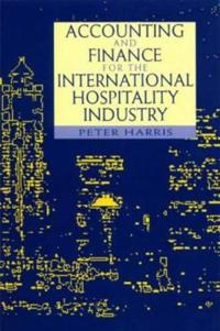 Accounting and Finance for the International Hospitality