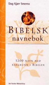 Bibelsk navnebok - Dag Kjær Smemo pdf epub