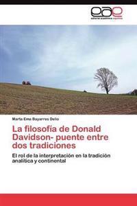 La Filosofia de Donald Davidson- Puente Entre DOS Tradiciones
