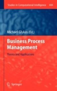 Business Process Management: Theory and Applications