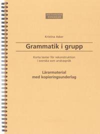 Grammatik i grupp
