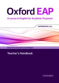 Oxford EAP: Intermediate/B1+: Teacher's Book, DVD and Audio CD Pack