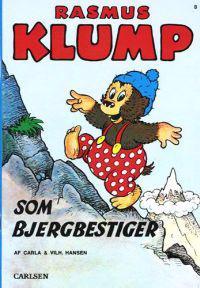 Rasmus Klump som bjergbestiger