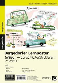 Lernposter Englisch - Sprachliche Strukturen