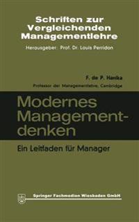 Modernes Managementdenken