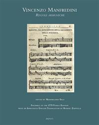 Vincenzo Manfredini, Regole Armoniche: Fac-Simile of the 1775 Venice Edition