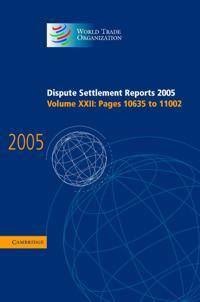 Dispute Settlement Reports Complete Set 178 Volume Hardback Set Dispute Settlement Reports 2005
