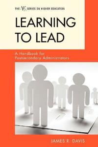 Learning to Lead
